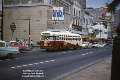 tulane trackless trolley
