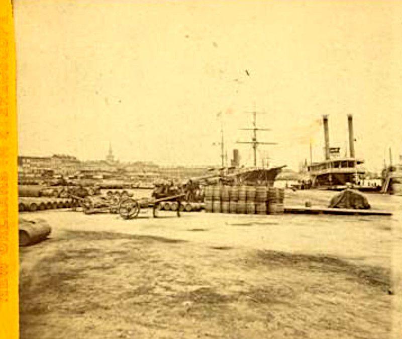 Faubourg Marigny railroad ferry