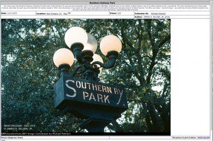 southern railway park
