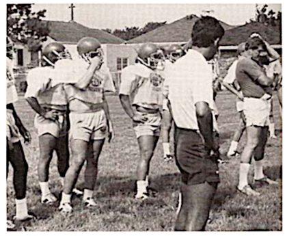 summer football practice