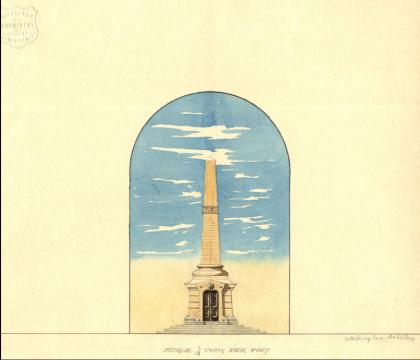 Freret's Cenotaph