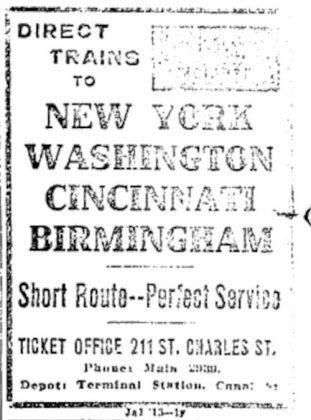 departures October 1913