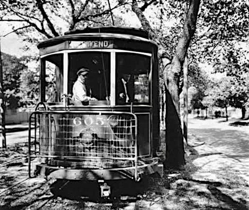 Palace Streetcar 1921